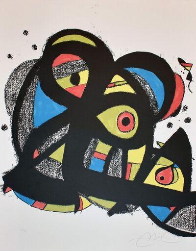 Joan Miró, 'Escriptors en Llengua Catalana', 1981