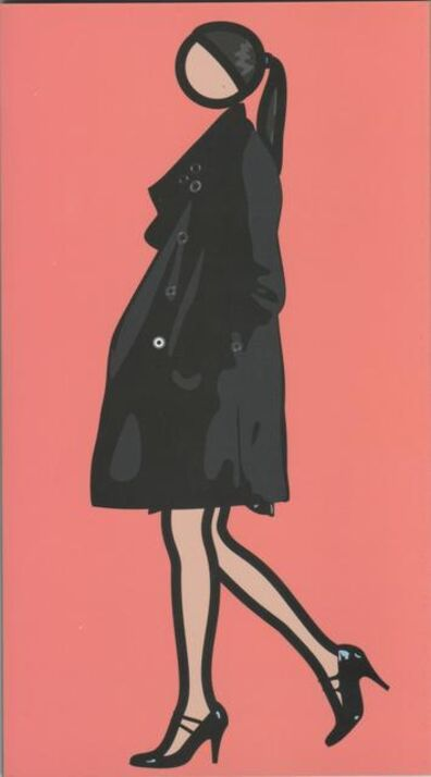 Julian Opie, 'Verity walking', 2010