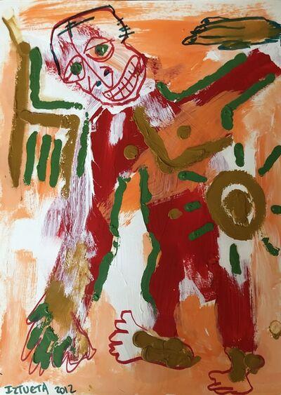 Samuel Iztueta, 'Man with Sun', 2012