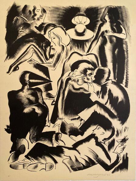 Allen Jones, 'High Society Limited Edition Print', 1985