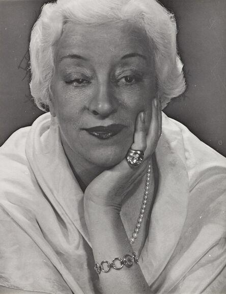 Man Ray, 'Françoise Rosay', 1946
