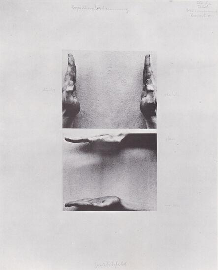 Franz Erhard Walther, 'Proportionsbestimmungen', 1972