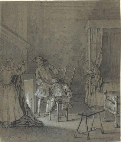 Jean-Baptiste Oudry, 'Ragotin enivré par La Rancune', 1726/1727