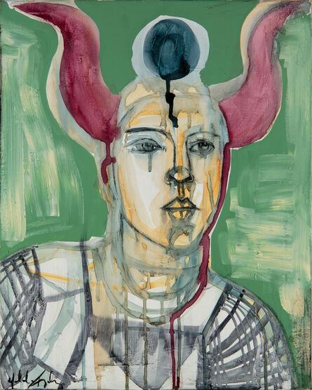 Yolanda Gonzalez, 'Guerrera con cuernos I', 2020