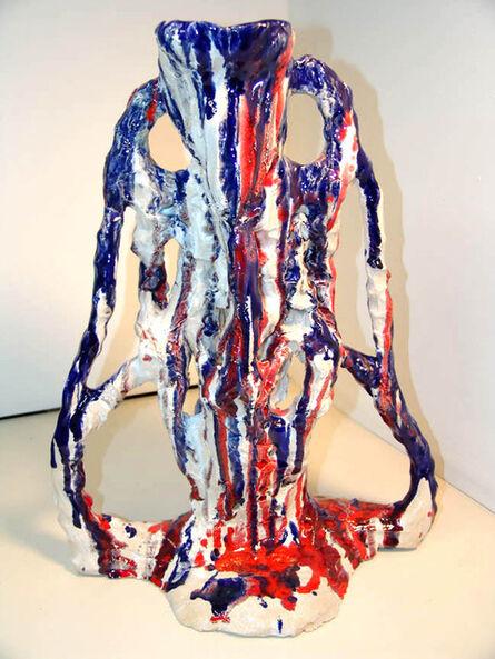 Sterling Ruby, 'Ceramic/Agnostic RWB', 2007