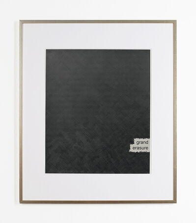 Roman Pfeffer, 'Rauschenberg's Willem de Kooning - Grand Erasure', 2008
