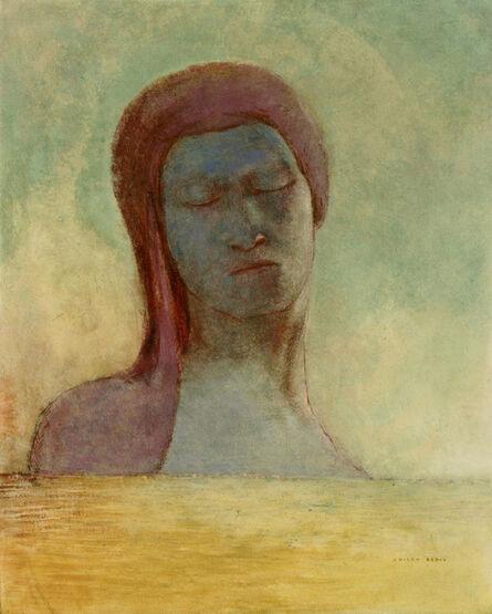 Odilon Redon, 'Yeux clos (Closed Eyes)', ca. 1894