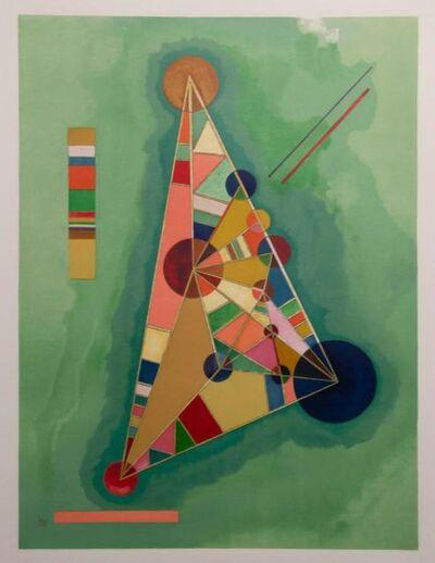 Wassily Kandinsky, 'Bunt im Dreieck', 1965