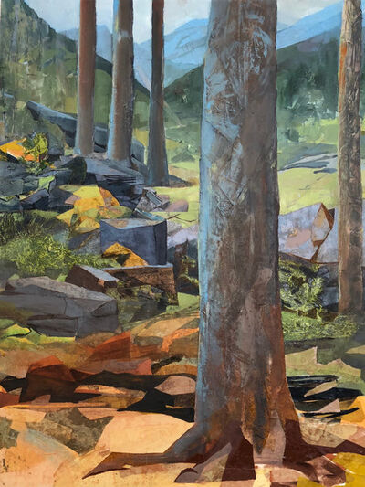 Mariella Bisson, 'Five Trees, Five Mountains', 2018