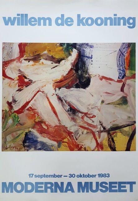Willem de Kooning, 'Moderna Museet: Willem de Kooning', 1983