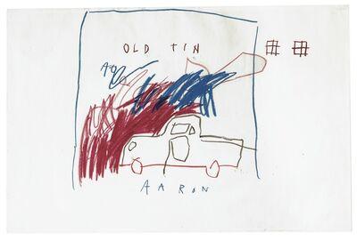 Jean-Michel Basquiat, 'Untitled (Old Tin Aaron)', 1982