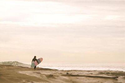 Shawna Ankenbrandt, 'J.P. (pink surfer)'