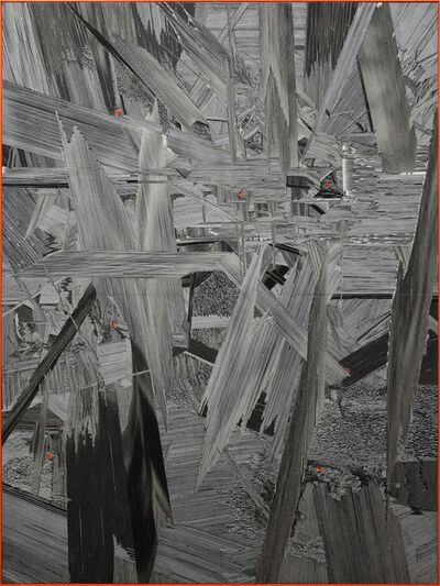 Marcin Dudek, 'Mass Man', 2017