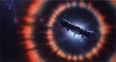 John Harris, 'The Test Flight of FTL1, The Re-Entry'