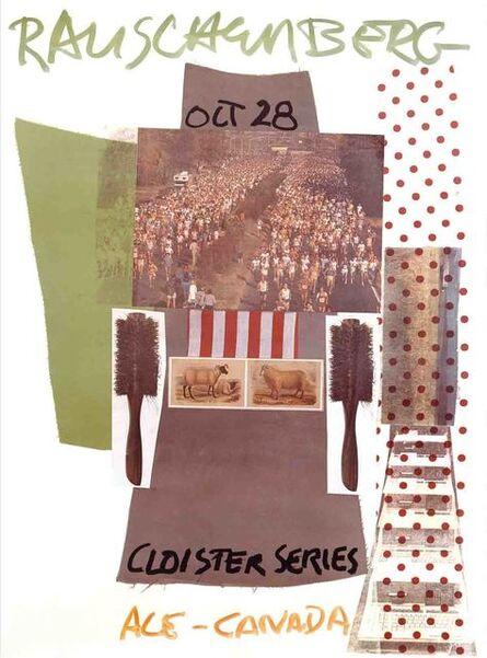 Robert Rauschenberg, 'Cloister Series, Ace Gallery, Canada', 1981