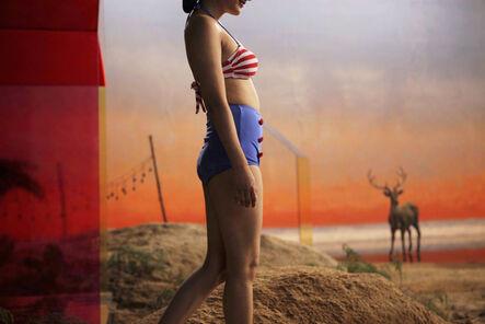 Yang Fudong, 'The Coloured Sky: New Women II', 2014