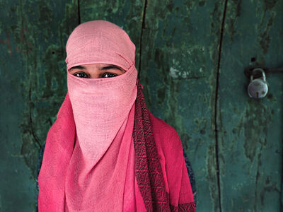 Neil O. Lawner, 'Portrait #2 India', 2020
