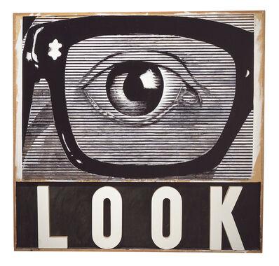 Joe Tilson, 'Look!', 1964