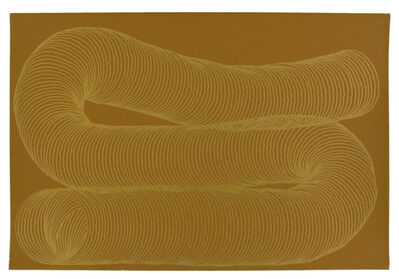 Jessica Deane Rosner, 'Light Bronze Color Aid with Gold Slinky', 2012