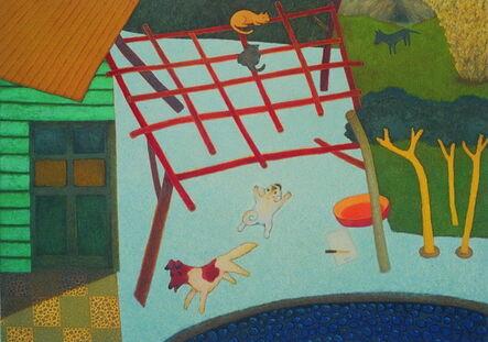Su Wong-shen 蘇旺伸, 'Chasing', 1988