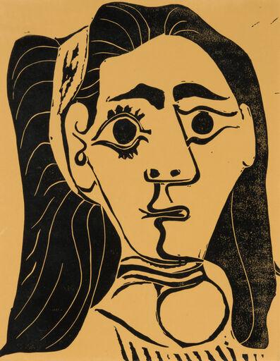 Pablo Picasso, 'Femme aux cheveux flous', 1962