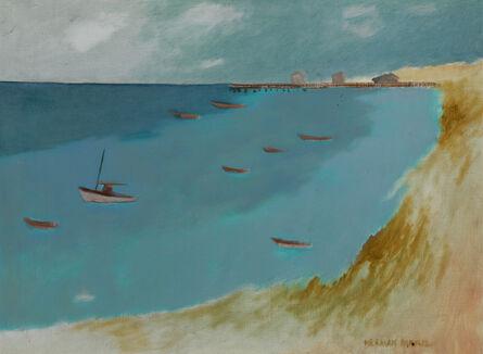 Herman Maril, 'Provincetown Bay', 1984