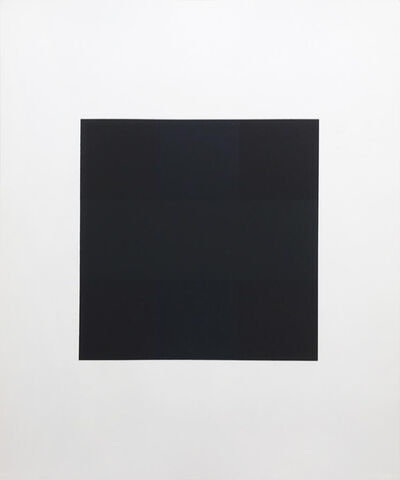 Ad Reinhardt, 'Untitled from Ten Works by Ten Painters portfolio', 1964
