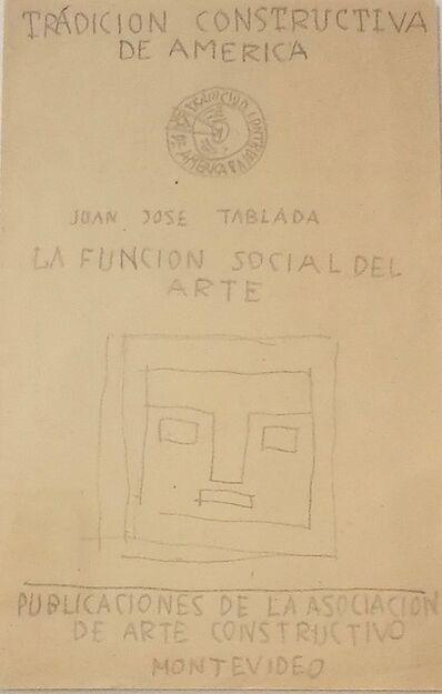 Joaquín Torres-García, 'Tradición Constructiva de América', ca. 1935