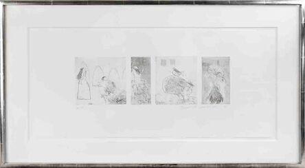 David Hockney, 'Study for Rumpelstiltskin', 1961