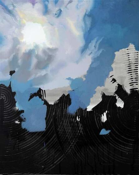 Rayk Goetze, 'Himmel über L.', 2020