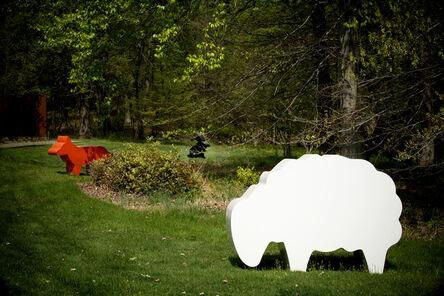 Julian Opie, 'Sheep, Fox, Rabbit', 2007