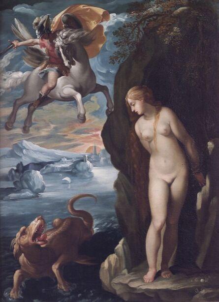 Giuseppe Cesari, called Cavaliere d'Arpino, 'Perseus and Andromeda', 17th Century