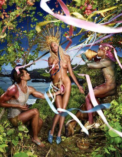 David LaChapelle, 'Rebirth of Venus', 2009