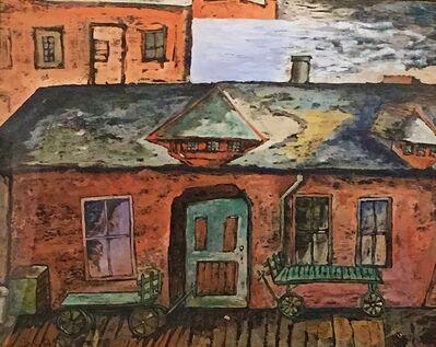 Rolph Scarlett, 'Station House', ca. 1920