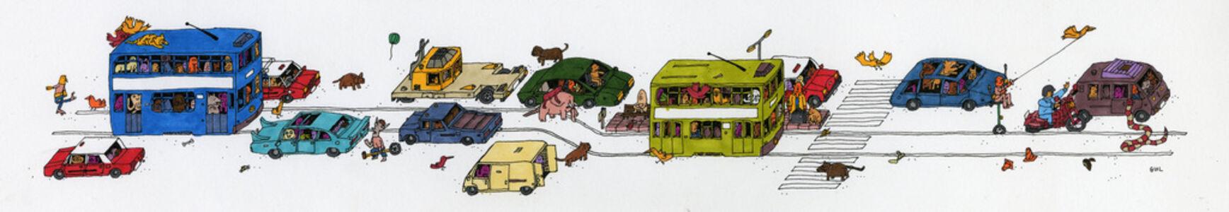 Guillaume Cornet, 'Tram Stop', 2019
