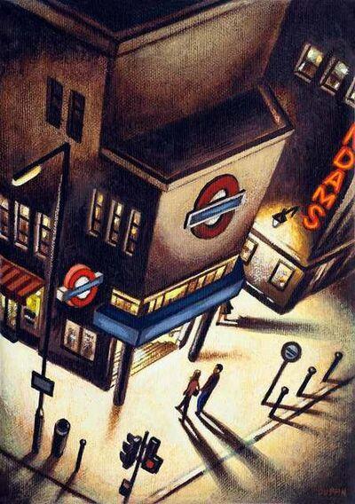 John Duffin, 'Charing Cross  Road Night', 2018