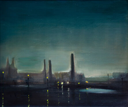 Theodore Major, 'Works at Night', 1970-1980