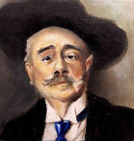 Carina Jimenez, 'Portrait of Ramacho Ortiago John Singer Seargent', 2020