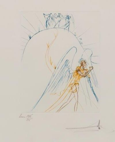 Salvador Dalí, 'The Flight of Satan [Michler and Löpsinger 713]', 1974