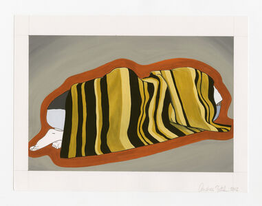Andrea Zittel, 'Patrick and Lani Cover shape', 2012
