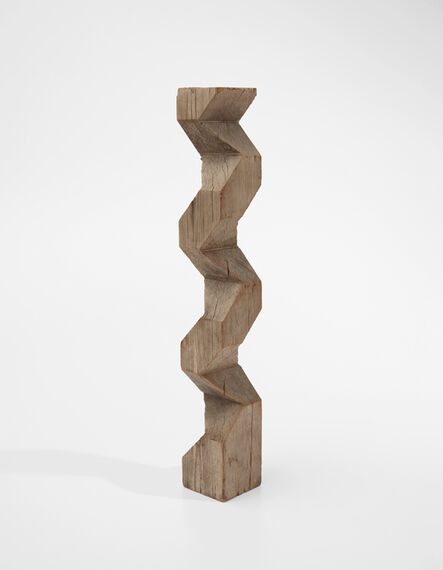 Carl Andre, 'Wood Saw-Cut Exercise', 1958