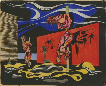 Jacek von Henneberg, '[Crucifixion]'