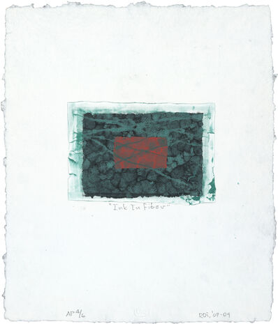Richard Tuttle, 'Ink in Fiber', 2009