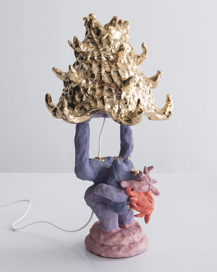 Katie Stout, 'Girl Lamp', 2017
