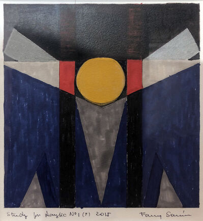 Fanny Sanin, 'Study for painting No. 1 (7)', 2015