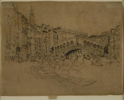 Joseph Pennell, 'The Rialto, Venice', 1883