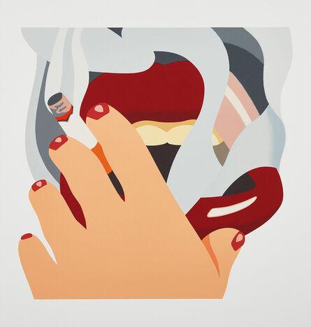 Tom Wesselmann, 'Smoker, from An American Portrait 1776-1976', 1976