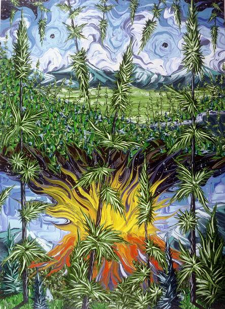 Gregory Horndeski, 'Valle Grande with Inception of Same,No2', 1998