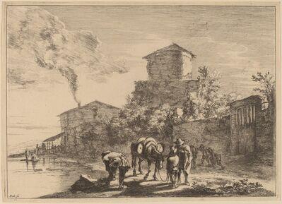 Jan Both, 'The Hinny Drover, via Appia'