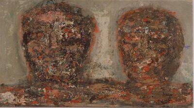 Leon Golub, 'Two Heads', 1961